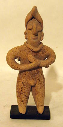 Colima Modelled Standing Figure