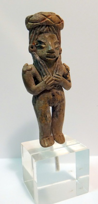 Michoacan Finely Detailed Standing Female Figure