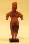 136-27-BDD - Colima Standing Female Figure