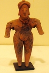 152-10-BX - Colima Standing Female Figure