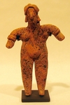 152-5-BX - Colima Standing Female Figure