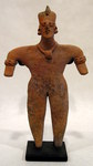 152-8-BX - Colima Standing Female Figure
