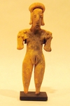 155-4-CDD - Colima Standing Female Figure