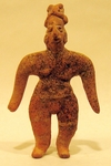 166-30-CN - Colima Standing Female Figure
