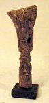 6233 - La Tolita Carved Bone, Semi Standing Figure